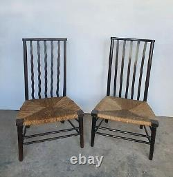 Two Arts And Crafts Morris And Co For Liberty Chairs