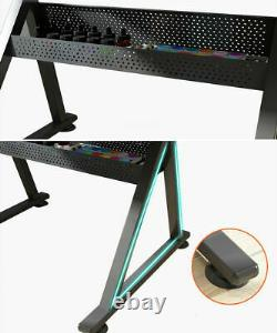 Two Drawers Drafting and Art Table Tiltable Drawing Board Craft Hobby Desk Stool