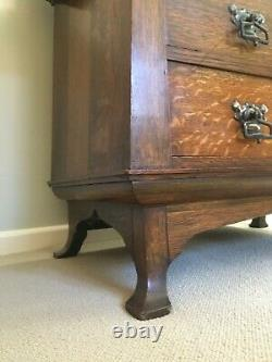 Unusual Arts and Crafts Dressing Table possibly Liberty & Co