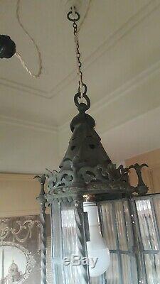 Victorian / Edwardian Arts And Crafts Gothic Lantern