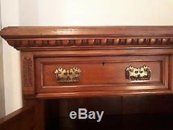 Victorian Mahogany Sideboard Arts and Crafts Style Wm Richardson & Sons Ltd
