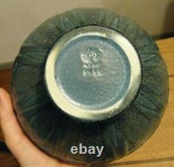 Vintage 1931 Blue Speck Rookwood Pottery Vase # 1811 Arts and Crafts