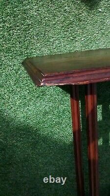 Vintage Antique Arts and Crafts Hall Table / Plant Stand