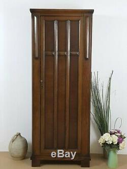 Vintage Arts And Crafts Wardrobe Solid Oak
