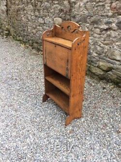 Vintage Arts and Crafts Oak Desk